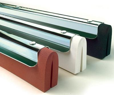 Podlahová stěrka kovová 55cm - olejivzdorná