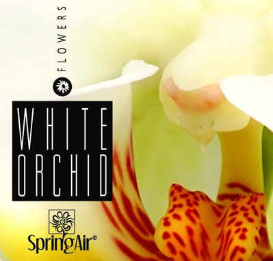 Náplň do velkoprostorového osvěžovače Spring Air (IconoScent, ArtyScent) - WHITE ORCHID (500ml)