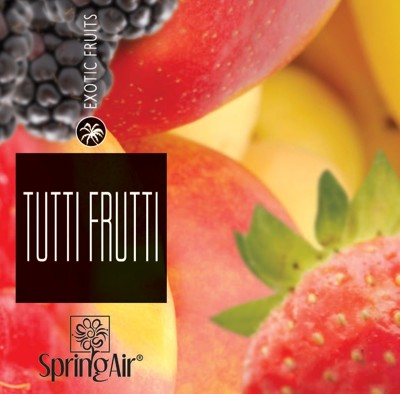 Spring Air náplň do osvěžovače - TUTTI FRUTTI (250ml)