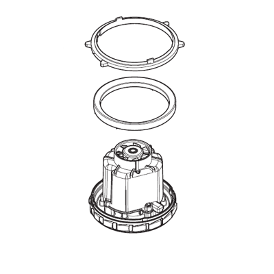 Sací motor pro vysavače Nilfisk-ALTO AERO 21-26-31 (220/240V 1000W)
