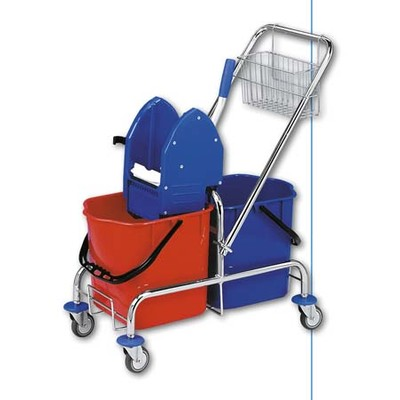 Úklidový vozík CLAROL 2x17 l