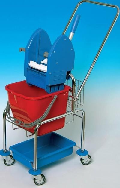 Úklidový vozík CLAROL VAN 1x17 l