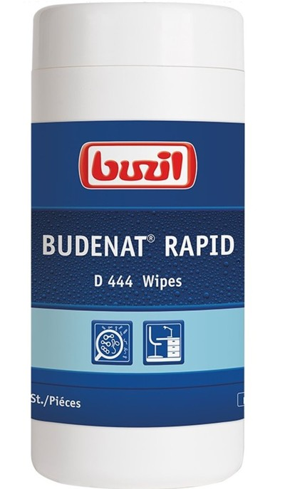 Buzil Budenat Rapid Wipes D 444 (dóza)