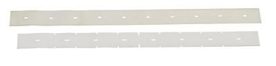 Stírací gumy do sací lišty pro podlahové mycí stroje Nilfisk 740mm