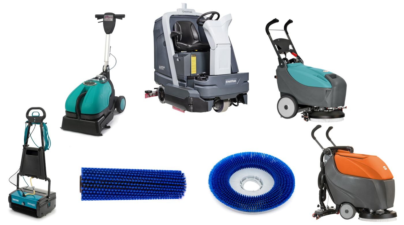 Hydroclean | Podlahové mycí stroje s válcovým nebo diskovým kartáčem?