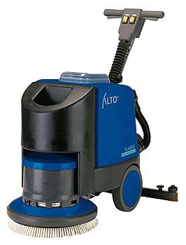 Podlahový mycí stroj