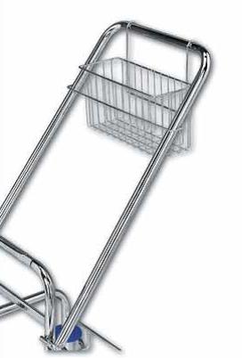 Košík na vodítko pro úklidový vozík