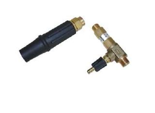 Krátký napěňovací nástavec s přisávacím ventilem (160bar - 1.200l/hod)