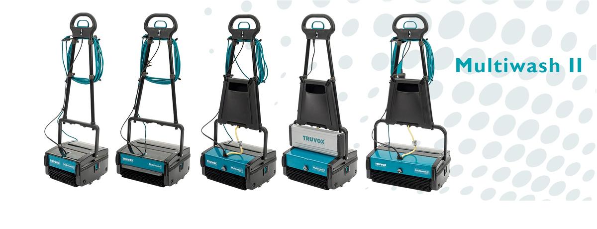 Mytí podlah, čištění koberců i eskalátorů jen jedním strojem...
