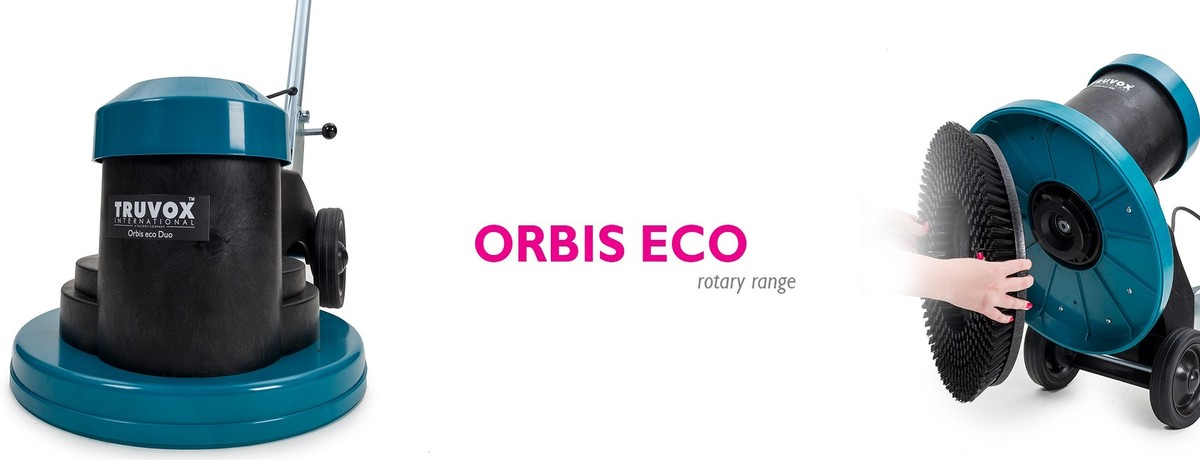 Jednokotoučové stroje Truvox Orbis